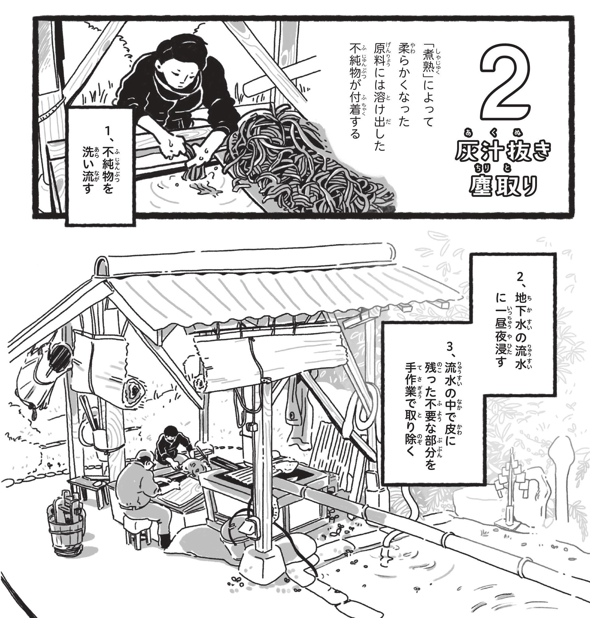 【漫画】手漉き和紙 出雲民藝紙(5)